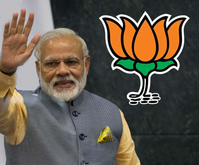 Sixteen general election BJP big Victory Narendra Modi made prime minister of India Jagran Special
