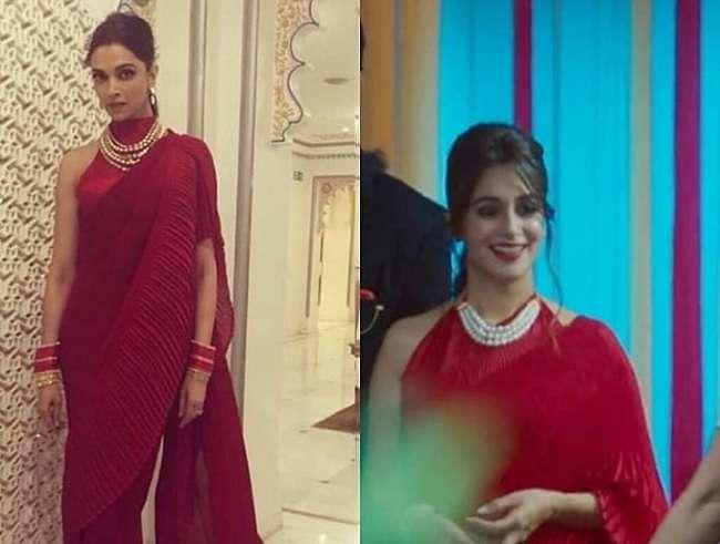 Bigg Boss 12 विजेता Dipika Kakar ने पहनी वैसी साड़ी जो Deepika Padukone ने शादी के बाद पहनी थी