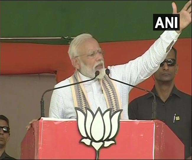 बिहार: पीएम मोदी ने कहा-इस बार लहर नहीं ललकार है, फिर बननी मोदी की सरकार है