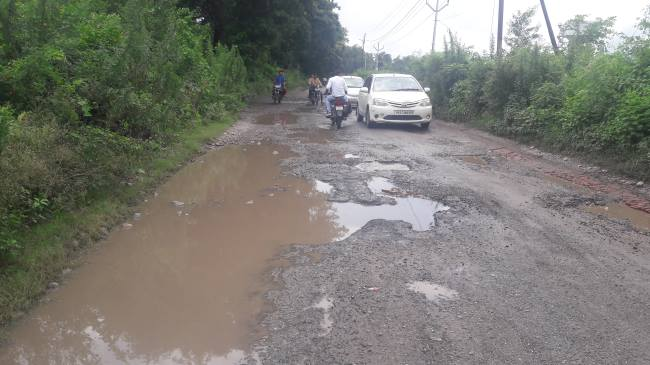 Image result for pits on road