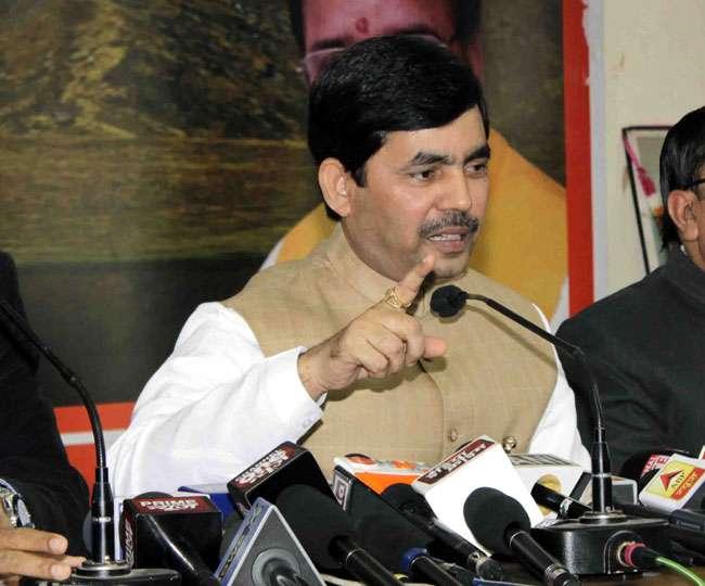 पाकिस्तान को अपना नाम आतंकिस्तान कर लेना चाहिए: शाहनवाज हुसैन