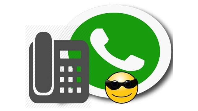 how to call a landline with whatsapp