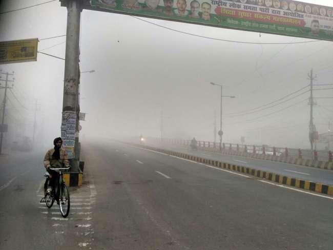 बिहार में ठंड से 10 की मौत, घने कोहरे से जनजीवन प्रभावित