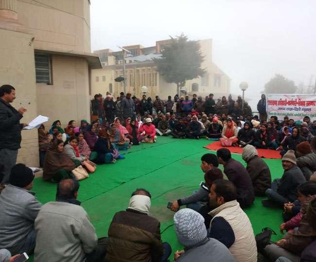 Image result for उत्तराखंड राज्य कर्मचारी हड़ताल