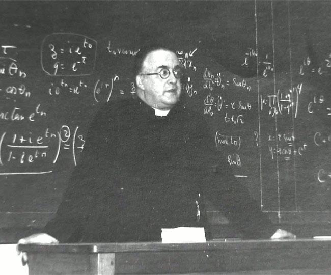 Image result for जॉर्ज लेमैत्रे