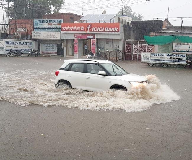 yamunanagar rain