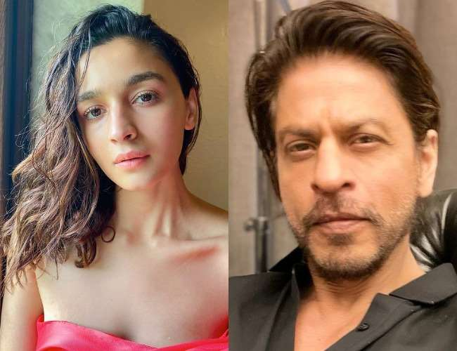 Alia Bhatt and Shah Rukh Khan. Photo- Instagram