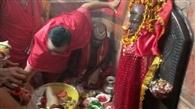 बाबा मंदिर में हुई मां अन्नपूर्णा की वार्षिक पूजा