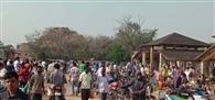 सरायकेला में लॉकडाउन की उड़ रही धज्जियां