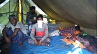 डुमरी में ठहरे बाहरी मजदूरों से छिनतई, लॉकडाउन में सिखों ने दी शरण