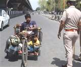 Panipat LockDown: 18 घंटे पैदल चले, पुलिस से बच पानीपत पहुंचे