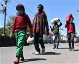 Coronavirus:कोरोना वायरस के खौफ पर भारी है पेट की आग Moradabad News