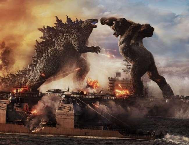 Godzilla Vs Kong steady at box office. Photo- Twitter