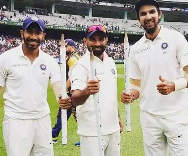 मोहम्मद शमी ने भारतीय गेंदबाजों की सराहना की है