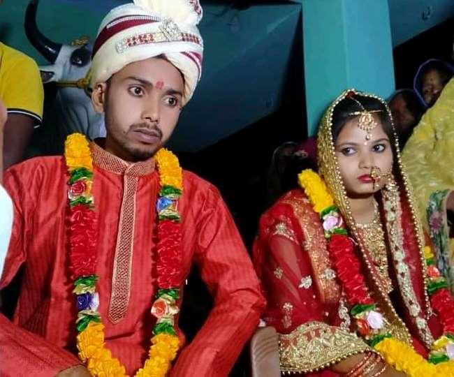 प्रेमी राहुल और प्रेमिका ज्योति से शादी की।