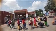 बंगाल के आभूषण कारीगर लेकर श्रमिक स्पेशल रवाना