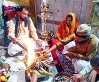 सादगी से मना नयना देवी मंदिर का स्थापना दिवस, श्रद्धालुओं ने फेसबुक पर किया दर्शन