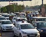 Lockdown 5.0 in UP : उत्तर प्रदेश में अनलॉक के पहले ही दिन खुलकर सड़कों पर निकले लोग