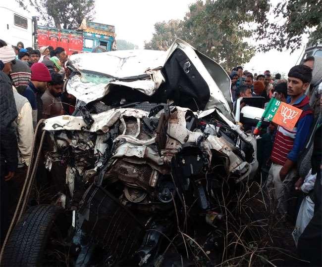Jharkhand Road Accident: गढ़वा में ट्रक-स्कॉर्पियो टकराए, भानुप्रताप शाही के भांजे समेत 5 की मौत