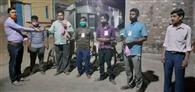 साहिबगंज: कर्मयोगियों को मिला मास्क व सैनिटाइजर