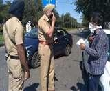 Curfew in Chandigarh : 6810 लोग और 3676 गाड़ियां राउंडअप, अब तक 101 गिरफ्तार