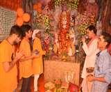 परंपरागत ढंग से मनाई गई रामनवमी, भगवान का हुआ महाश्रृंगार, लगे महाभोग Muzaffarpur News
