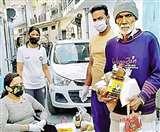 Positive India: ऋषिकेश में दिव्यांग नीरजा गोयल बांट रही हैं जरूरतमंदों को खाद्य सामग्री