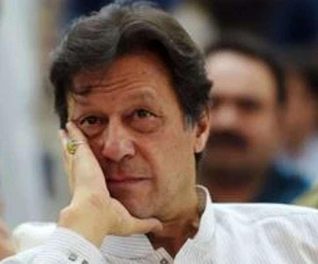 पाकिस्तान के प्रधानमंत्री इमरान खान की फाइल फोटो