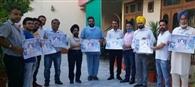 कोरोना के योद्वाओं को समर्पित गीत रब्ब किया रिलीज