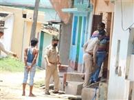 बारीगोड़ा में टाटा मोटर्स कर्मचारी के घर विस्फोट की जांच करने पहुंचे सिटी एसपी