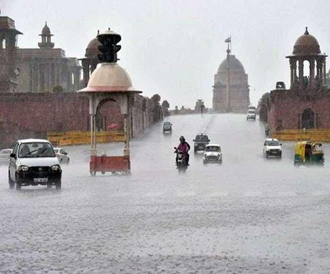 Delhi Weather ALERT! जून महीने के पहले ही दिन बारिश और न्यूनतम तापमान ने तोड़ा एक दशक का रिकॉर्ड