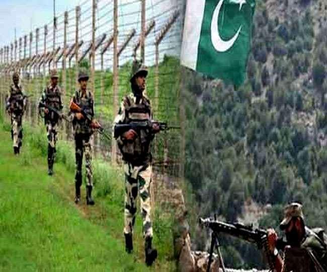 पाकिस्तान ने तीन साल में 10,752 बार किया सीजफायर उल्लंघन। (फोटो: दैनिक जागरण/प्रतीकात्मक)