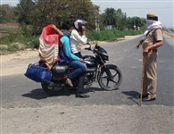 लॉकडाउन उल्लंघन में 25 गिरफ्तार