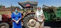महिलाओं ने संभाला गांव नियामतपुर में पहरे का मोर्चा