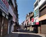 Jalandhar Under Curfew 9th day: मुख्य सड़कों और बाजारों में सन्नाटा, केवल जरूरी खरीदारी करने ही बाहर निकले लोग