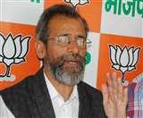 भाजपा प्रवक्ता मुन्ना चौहान डीएम के रवैये पर भड़के, मुख्य सचिव से कार्रवाई की मांग
