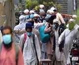 Nizamuddin Corona Cases: दिल्ली निजामुद्दीन तब्लीगी मरकज से लौटे आठ जमातियों के खिलाफ मामला दर्ज