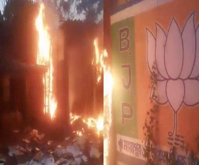चुनाव परिणाम के बाद हिंसा-आगजनी पर राज्यपाल ने डीजीपी को किया समन, ममता ने की शांति की अपील। फाइल फोटो