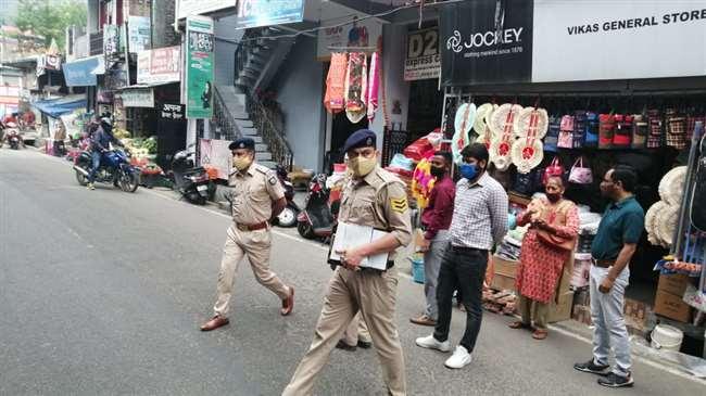बिना मास्क घूम रहे लोगों पर जोधपुर पुलिस ने की सख्ती, यहां देखें वीडियो