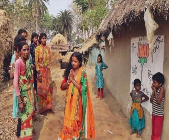बंगाल में दिहाड़ी मजदूर की पत्नी चंदना बाउरी बनी भाजपा विधायक। फाइल फोटो