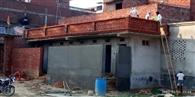 अहरौला का पहला मॉडल शौचालय हो रहा तैयार