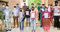 नौ विद्यार्थियों की प्लेसमेंट होने पर दिए नियुक्ति पत्र