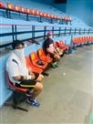 हंसराज बैडमिटन स्टेडियम खुला, खिलाड़ियों ने बहाया पसीना