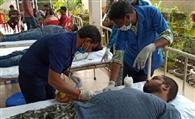 रक्तदान कर जीवन बचाने से बड़ा कोई कार्य नहीं : डॉ. चौधरी