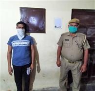 25 हजार का इनामी गोकश मुठभेड़ में गिरफ्तार