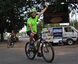 साइकिल पर निकले यंग इंडियंस, देखनेवाले भी हुए प्रेरित Jamshedpur News