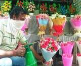 ग्राहकों के इंतजार में मुरझाई Flower Market, हॉलसेल रेट 50 फीसद तक गिरे