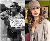 George Floyd Death: अमेरिका में प्रदर्शनकारियों के समर्थन में नरगिस फाखरी, शेयर की प्रोटेस्ट की तस्वीरें