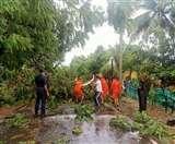 Cyclone Nisarga Update: महाराष्ट्र में तांडव मचाने के बाद धीरे-धीरे कमजोर हो रहा निसर्ग
