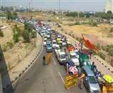 Heavy Traffic Jam: यूपी गेट पर लगा लंबा जाम, दिल्ली से गाजियाबाद जाने वाले लोग परेशान